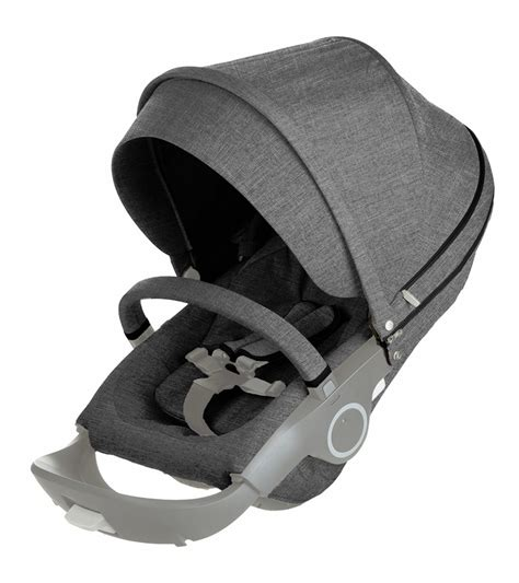 Hair Style Kit Ride by Stokke Xplory Style Kit Seat In Black Melange