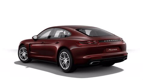 2017 Porsche Panamera Exterior Color Options