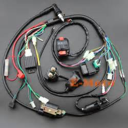 aliexpress buy electrics wiring harness coil cdi spark kits for 50cc 70cc 90cc