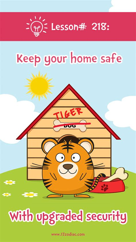 lesson 218 how to keep your home safe 13 zodiac