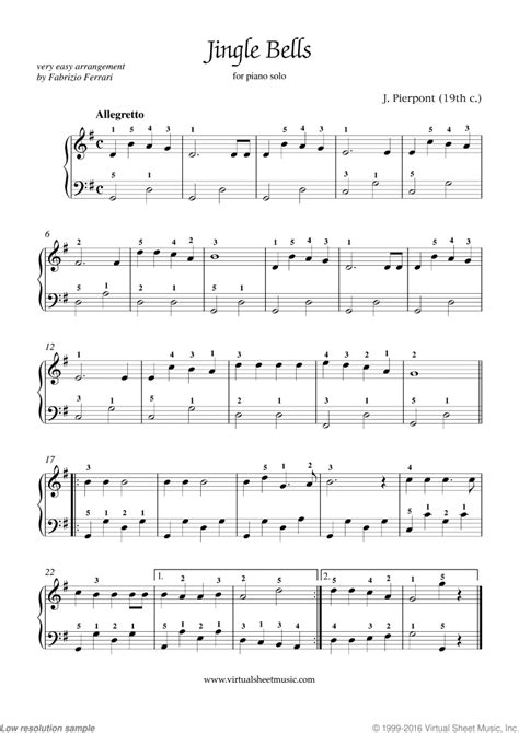 testo jingle bell free jingle bells sheet for piano high quality