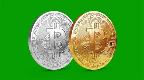 bitcoin platinum bitcoin rotating 3d model animated pixelboom