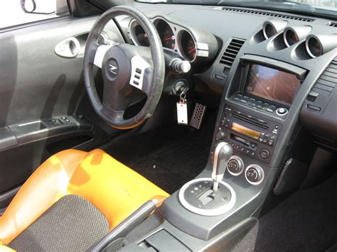 nissan roadster interior nissan 350z convertible interior image 118