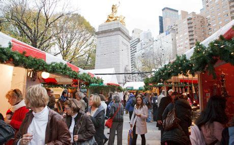Shopping sans windows nyc s outdoor holiday markets traveling mom