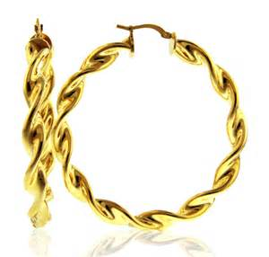 15 99 for euro elegance thin swirled twist hoop earrings 3rg1m3094
