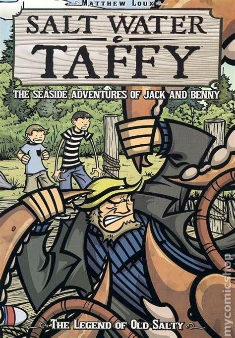 on the salty water books salt water taffy gn 2008 oni press comic books
