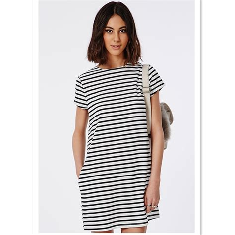 boxy womens stripe t shirt dress in bulk buy stripe t