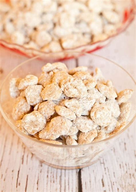 puppy chow recipe without peanut butter white chocolate vanilla peanut butter puppy chow try this easy no bake white