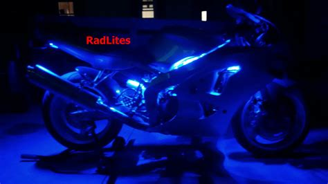 led blue lights for motorcycles radlites pictures
