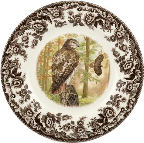 spode woodland birds 45 flatware spode woodland birds of prey tailed hawk dinnerware