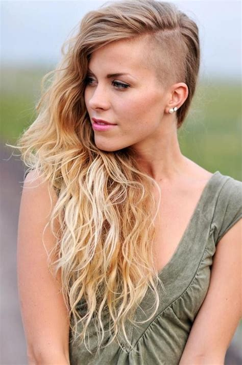 15 long hair with shaved sides long hairstyles 2017 long hair short sides female best short hair styles