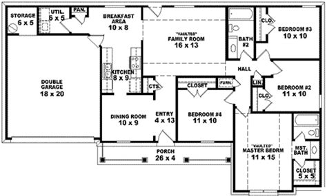 1350 Sq Ft House Plan 1350 Square House Plan House Plans