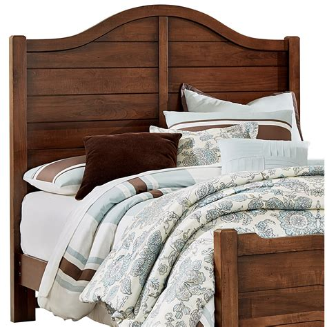 wood twin headboard vaughan bassett american maple solid wood twin shiplap
