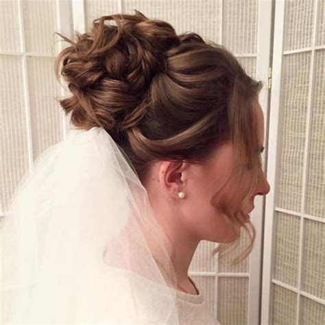 bridal hairstyles low bun with veil 99 stunning wedding hairstyles that will make you weep on