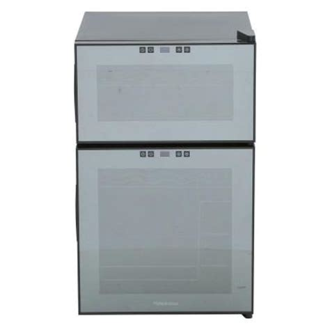 dual zone wine cooler temperature settings whynter 16 bottle thermoelectric wine cooler wc 16s the
