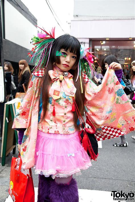 takuya kimono inspired fashion in harajuku