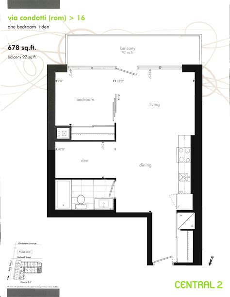 Centralized Floor Plan Central Phase One And Phase Two Floor Plans