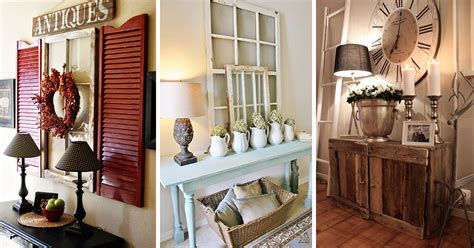 Entryway Decorating Ideas 27 best rustic entryway decorating ideas and designs for 2017