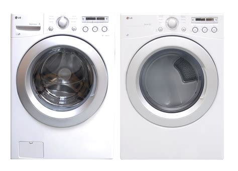 washer dryer set lg washer electric dryer set wm3050cw dle3050w 048231011525 ebay
