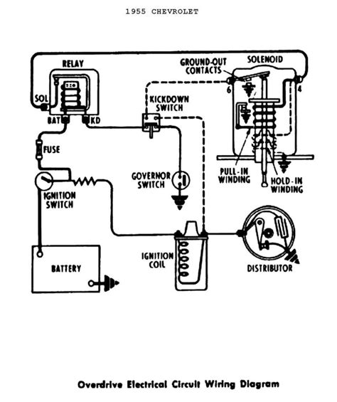 chevy 350 ignition coil wiring diagram circuit and