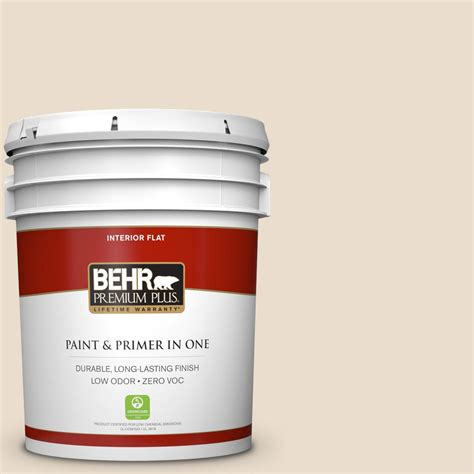 home depot interior paints behr premium plus 5 gal 23 antique white flat interior paint 105005 the home depot