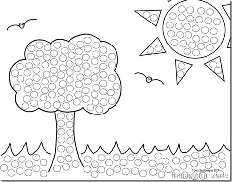 Q Tip Coloring Pages q tip painting with templates therapy zone