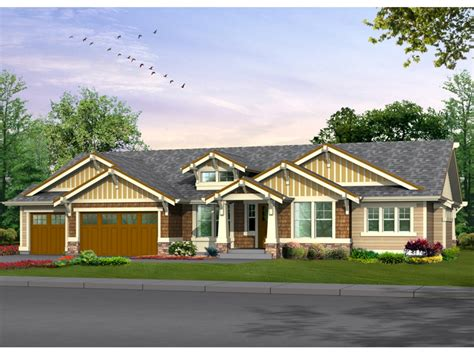 House Plans Craftsman Ranch by From Ranch To Craftsman Craftsman Style Ranch House Plans