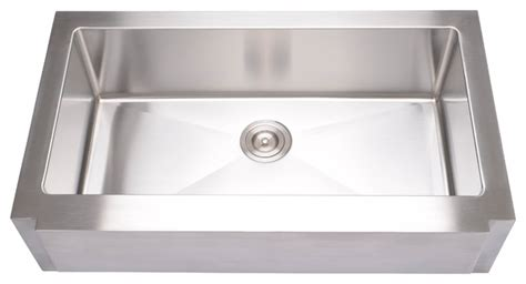 extra large kitchen sinks shop houzz hahn hahn notched farmhouse extra large