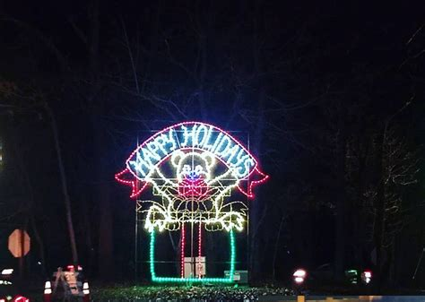 seneca park lights seneca creek state park winter lights adventure dc