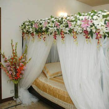 bridals and grooms latest living room decoration ideas 2014 flower designing of decorating bed room for wedding night