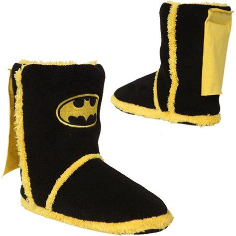 batman house shoes batman caped slipper boots