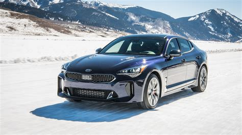 2019 Kia Stinger Gt by 2019 Kia Stinger Gt Atlantica Is All Dressed Up And Blue