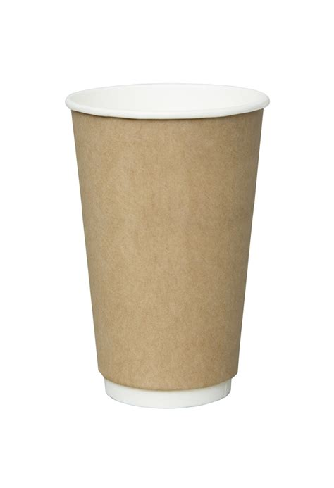 Paper Cups - 9oz wall white paper cup
