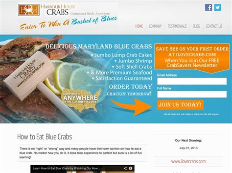 harbour house crabs harbour house crabs whitelabel websites
