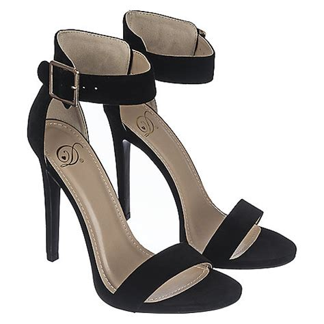 delicious canter s s black high heel dress shoe