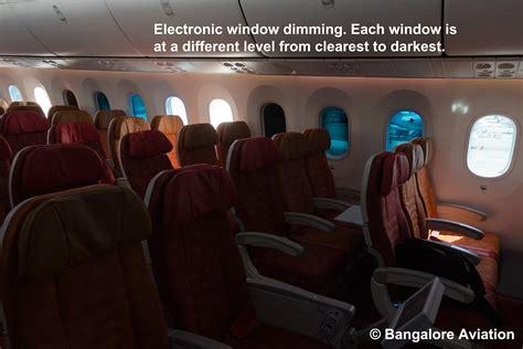 as 787 dreamliners return passengers economy class