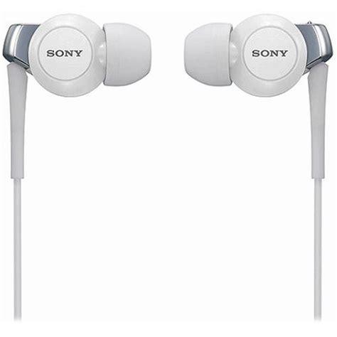 Headset Sony Ex300 sony mdr ex300 premium in ear headphones white mdrex300 whi