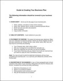 simple business plan template simple business plan template