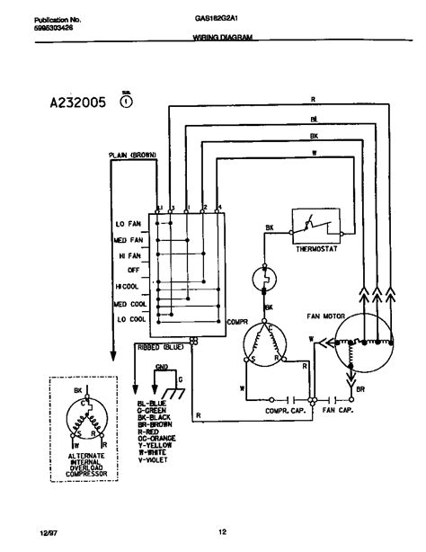 wiring diagram   ge room air conditioner model aswdls