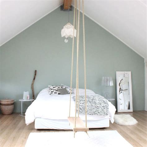 bedroom swings a swing in tne bedroom