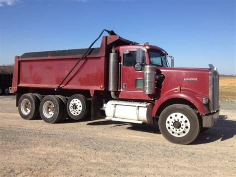 Dump Truck With Sleeper by Kenworth K900 Cars For Sale