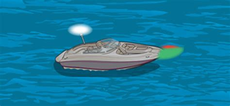boat navigation lights rules canada required navigation lights for powerboats cn boat ed
