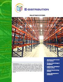 pallet racking brochure brochures racking systems asrs system warehouse systems e distribution