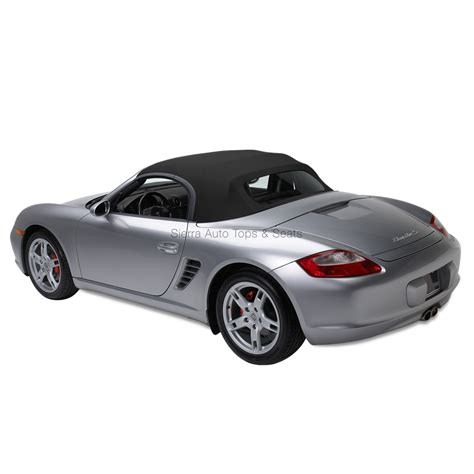 black porsche boxster convertible porsche boxster german a5 convertible top window black
