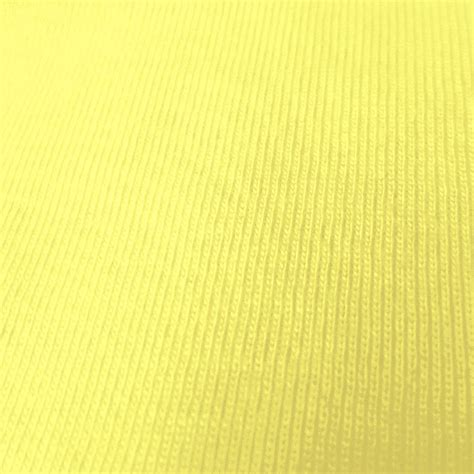 baby jersey knit fabric yellow 1x1 baby rib knit fabric 100 cotton fabric jersey