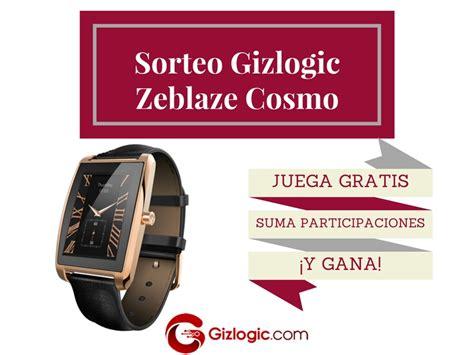 sorteo gratis sorteo ll 233 vate gratis el smartwatch zeblaze cosmo