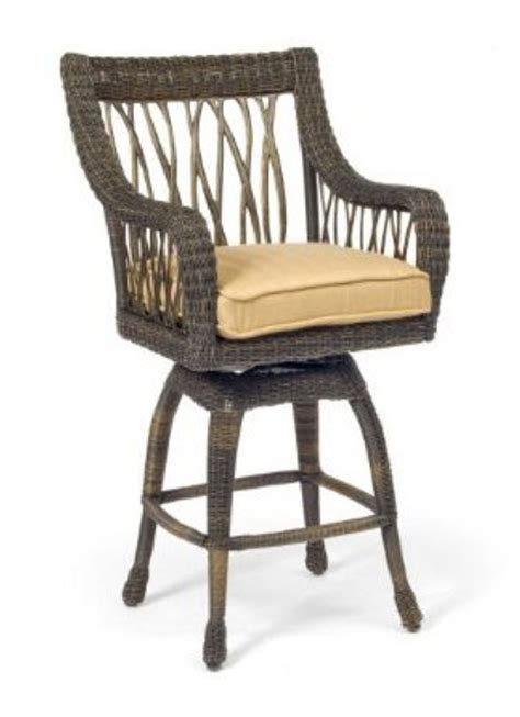 All Weather Bar Stools by All Weather Wicker Bar Stools Whereibuyit