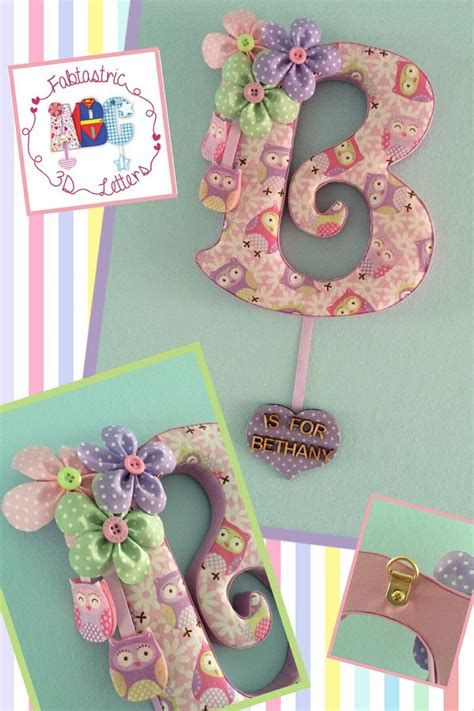 fabric covered letters for nursery 16 best images about fabric covered letters on