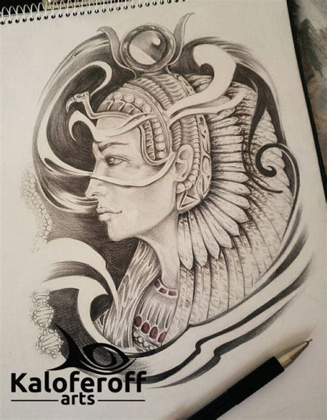queen isis tattoo 17 best ideas about egyptian goddess tattoo on pinterest
