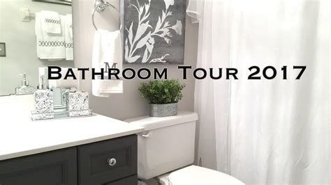 ideas to decorate bathroom bathroom decorating ideas tour on a budget